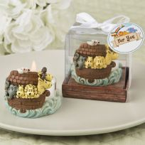 Adorable Noah's Arc Themed Tealight Candle Holder
